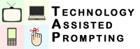 technology assisted prompting logo